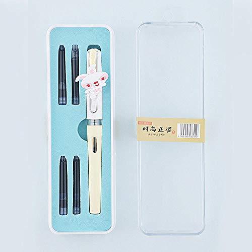 tinta de la pluma estilográfica Saco de tinta de reemplazo-Zodiac Rabbit_0.38mm_Official standard_Mingjian artist pen