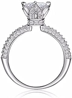 Promise ring with zircone stone