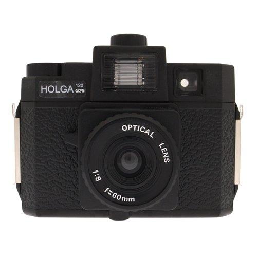 Holga Fotoapparat 120GCFN (120 GCFN), Glasobjektiv, Multicolor Blitz