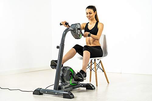 ECODE Bicicleta Dual Training estática para piernas y Brazos