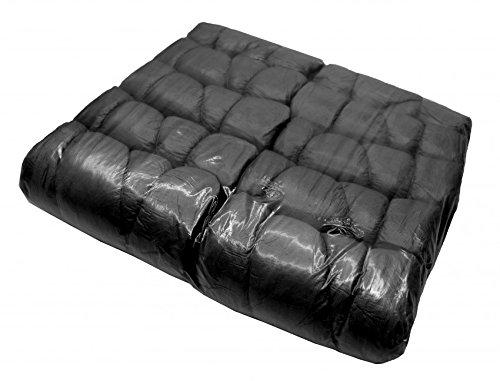 10 Stück Liegenbezug Liegenabdeckung in schwarz mit Gummizug Matratzenschoner