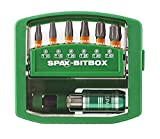 SPAX Bitbox T-STAR plus 4000007899019 - Portabrocas de cambio rápido (6 puntas: T10, T15, T20, T25, T30, T40 en 25 mm)