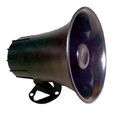 "All-Weather Mono Trumpet Horn Speaker - 5"" Portable PA Speaker with..."