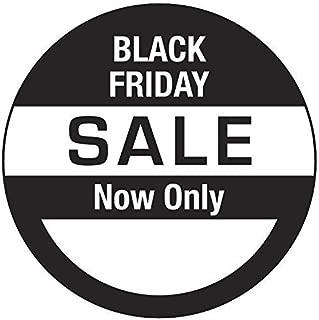 Black Friday Sale Prezzo Adesivi//Etichette//Etichette Circolare 25mm 1000
