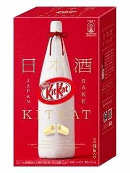 Japanese Kit Kat Sake Flavor Sweetness for Adults mini 9 pcs  Japan Import  2017 NEW Ver.