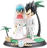 Yooped Dragon Ball Figura Vegeta Bulma Wedding Figura Anime Figura Figura di Azione...