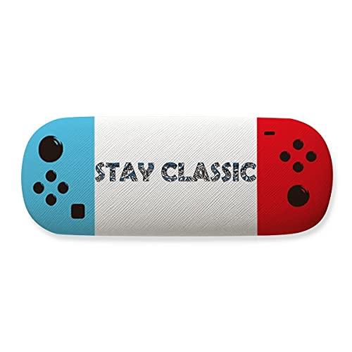 Quote Stay Classic - Funda para gafas de almacenamiento, diseño creativo
