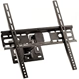 CEKATECH Soporte de TV de Montaje en Pared de Tipo Fijo para TV LED, LCD, OLED, 26 a 55 Pulgadas hasta VESA 400x400 mm, Soporte de TV para Pared Compatible con Sony KD-49XF8596