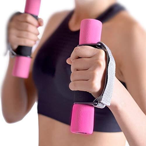 PTMD Un par de ejercicios de caminar mancuernas para el hogar ejercicio para las mujeres, pesas para las manos del brazo, pilates, pesas para las manos, aeróbic, entrenamiento físico, deporte