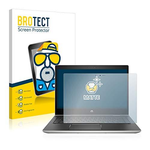 BROTECT Entspiegelungs-Schutzfolie kompatibel mit HP ProBook x360 440 G1 (eine Kamera) Bildschirmschutz-Folie Matt, Anti-Reflex, Anti-Fingerprint