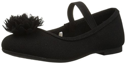 The Children's Place Baby-Girl's E TG UNI Kayla Uniform Dress Shoe, Black, TDDLR 4 Toddler US Toddler