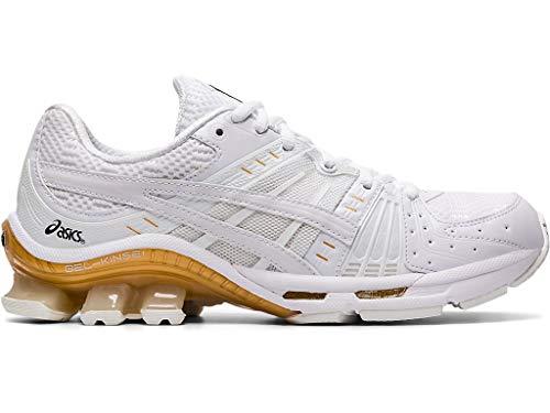 ASICS Women's Gel-Kinsei OG Running Shoes, 7M, White/White