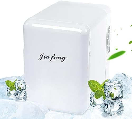 4 Liter AC/DC Mini Refrigerator for Skincare...