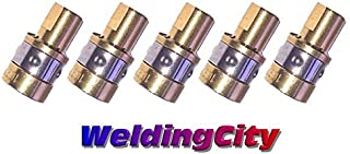WeldingCity 5-pk Gas Diffuser 169-716 for Miller Millermatic M and Hobart H MIG Welding Guns