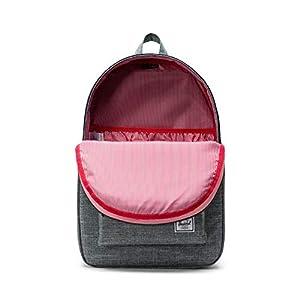 Herschel Settlement Backpack, Raven Crosshatch, Classic 23.0L