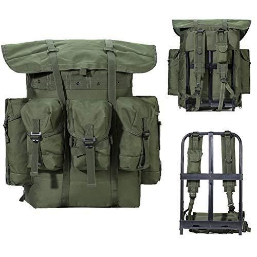 Akmax.cn Militärischer Überschuss Alice Pack Army Survival Combat Alice Rucksack Rucksack Olive Drab