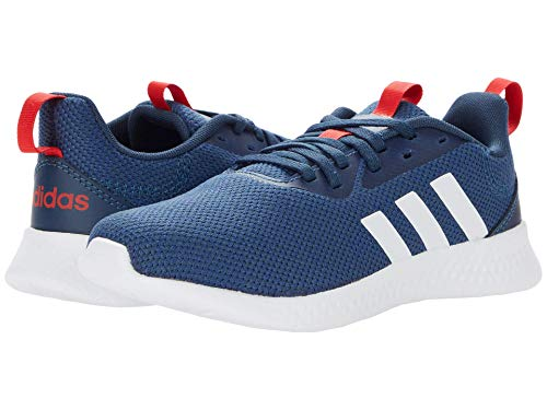 adidas Puremotion Running Shoes, Crew Navy/White/Vivid Red, 3 US Unisex Little Kid