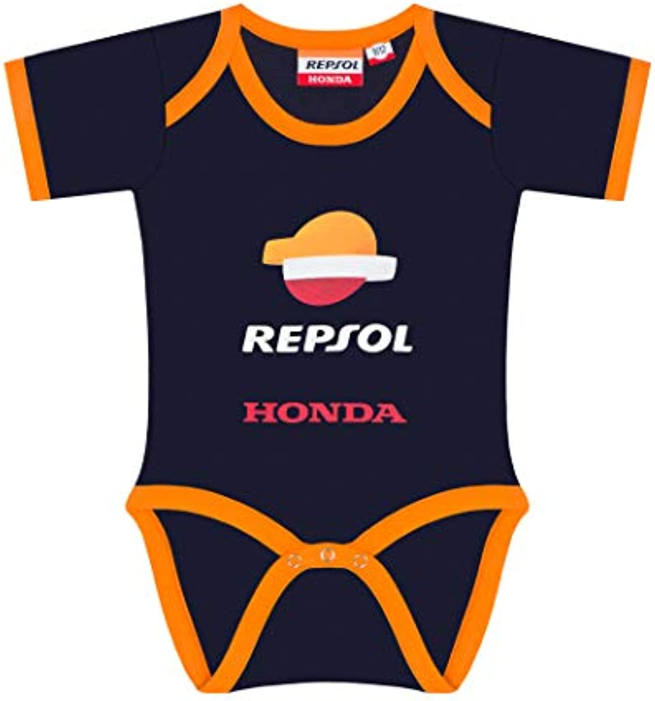 2019 Repsol Honda Racing MotoGP Baby Vest Babygrow Dark blueee Ages 3-18 Months
