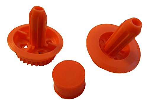 vhbw Ersatz Getriebe Set passend für Saugroboter Neato XV-11, XV-12, XV-14, XV-15, XV-21, XV-25, XV Signature Pro, Vorwerk Kobold VR100.