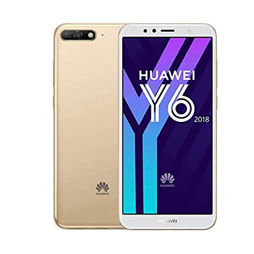 Huawei 774798 14,47 cm (5,7 Zoll) Y6 (2018) Smartphone (16 GB, Android 8.0 (Oreo)) Gold