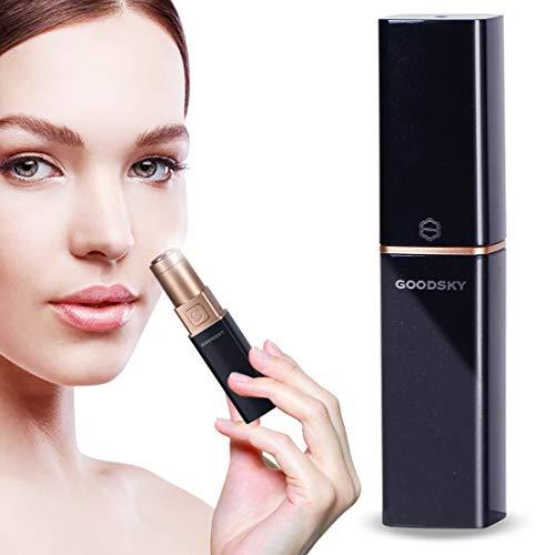 Flawless removedor de vello facial para mujeres, depiladoras faciales para el vello facial