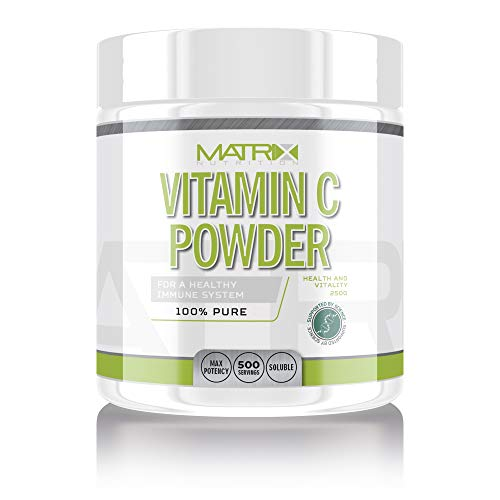 Matrix Nutrition Vitamin C Powder 250g - Vitamin C