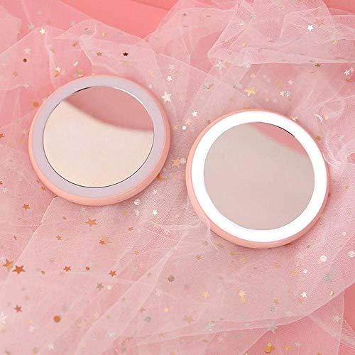 Espejo de Maquillaje LED con luz, Espejo de Maquillaje, Espejo de Afeitar, una Buena opción para Regalos-I