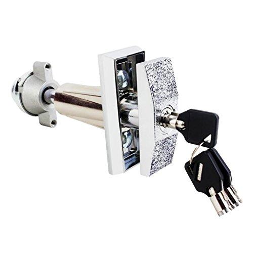 Cerradura Universal de Máquina Expendedora de Bebidas Bocadillo Enchufe de Bloqueo de Reemplazo con 3 Piezas Clave