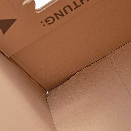 150 Gläserkartons mit 30/15 Fächern Flaschenkartons für Umzug Verpackung Umzugskartons - 6
