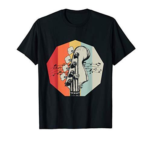 Geschenk für Bass-Gitarrristen Bass Gitarre T-Shirt