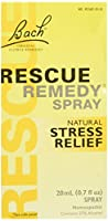 海外直送品Bach Flower Essences Rescue Remedy Spray, 20 ML (Pack of 2)