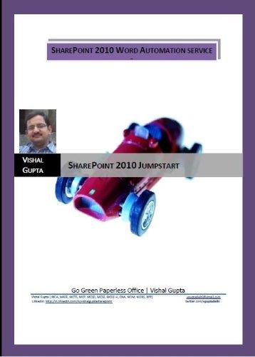 SharePoint 2010 Word Automation Service (SharePoint 2010 JumpStart) (English Edition)