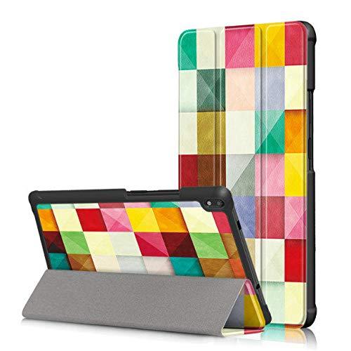 Mincol-us case for Lenovo Tab4 8' Plus(TB-8704V), Adjustable Angle, Side flip, Super Magnetic, Suitable for Lenovo Tab4 8' Plus(TB-8704V).-Magic Cube