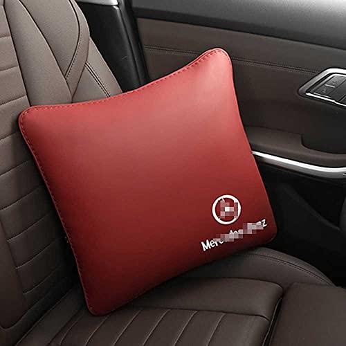 XQRYUB Edredón de Almohada para Coche, edredón de Aire Acondicionado de Doble Uso, Almohada Lumbar para la Espalda, Accesorios Interiores del Coche, Apto para Mercedes-Benz