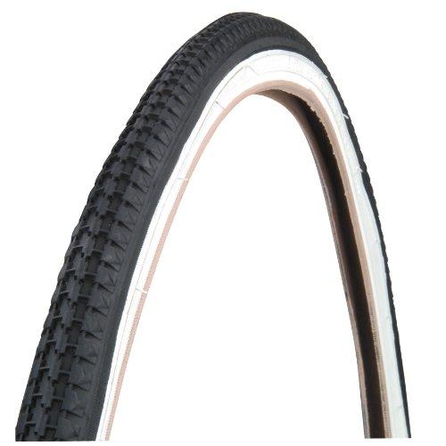 Profex 60033 - Cubierta de Bicicleta de Paseo (26 x 1 3/8), Color Negro y Blanco