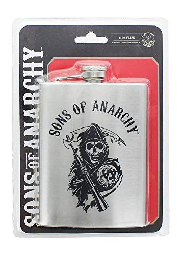 Sons of Anarchy Logo Flask