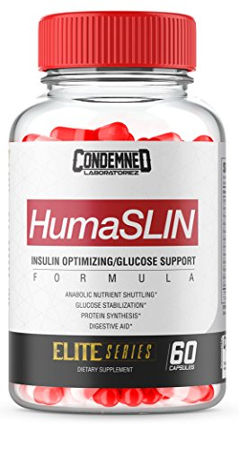 Condemned Labz, HUMASLIN, Glucose Disposal, Carb-Compliment, Limit Fat Gain Supplement - 60 Capsules