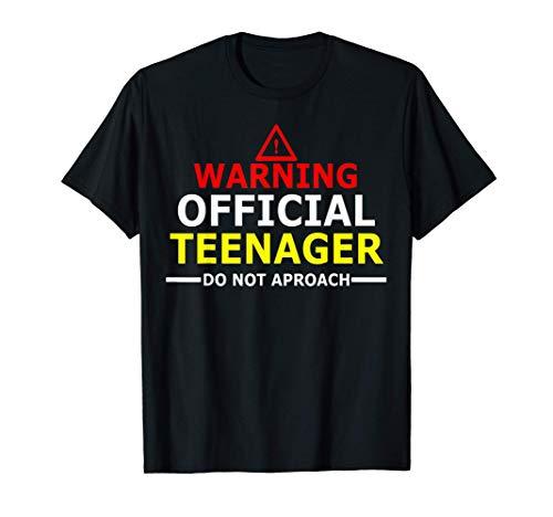 Teenager 13 Year Old Funny 13th Birthday Gift Boys, Girl T-Sh