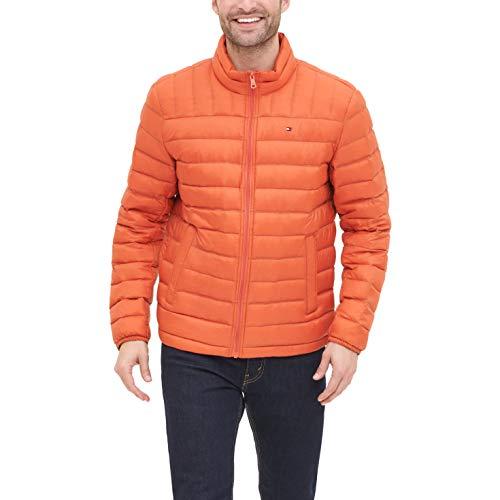 Orange Down Jacket Mens