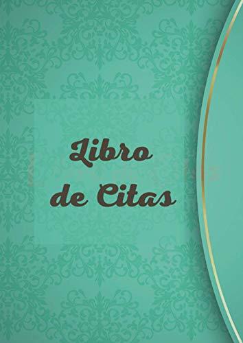 LIBRO DE CITAS: Agenda de Citas para Peluqueria profesional, Planificador