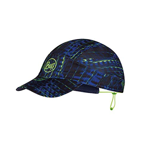 Buff Pack Run Cap Gorra, Unisex-Adult, Blue, One Size