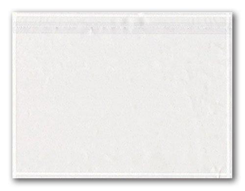 1000 Dokumententaschen transparent ohne Druck DIN C6