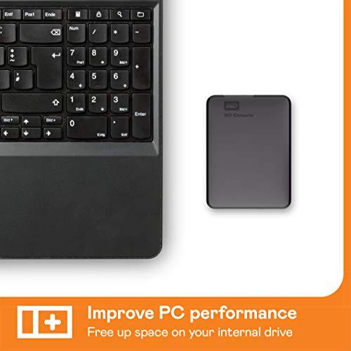 WD Elements Portable , externe Festplatte – 5 TB – USB 3.0 – WDBU6Y0050BBK-WESN - 6