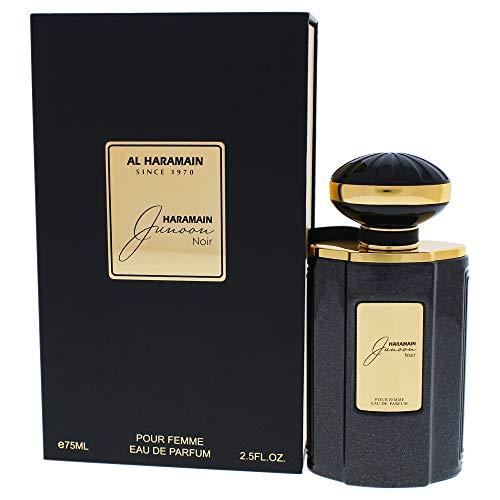 Al Haramain Junoon Noir by EAU De Parfum Spray 2.5 oz / 75 ml (Women)