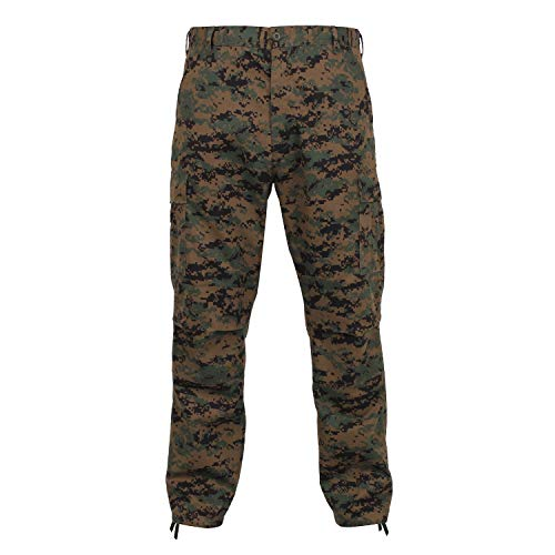 Rothco 8675 ULTRA FORCETM BDU PANT - WOODLAND DIGITAL, Large-Regular (35-39