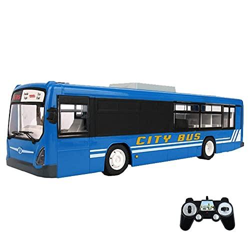 Carreras todoterreno para niños, escala 1/14, coche RC, 2,4 GHz, radiocontrol, camión, autobús, todoterreno, control remoto, sonidos simulados, luces LED, camión electrónico recargable, para niños, n