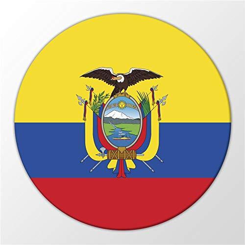 Kühlschrank Magnet Ecuador Flagge Südamerika Flag Magnettafel Whiteboard