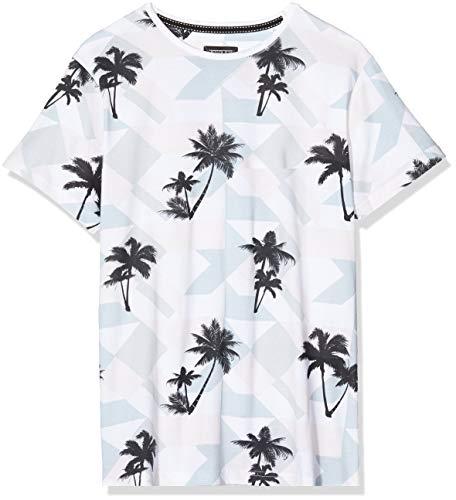D-Struct D Garregs P T-Shirt, Rosa, S Uomo