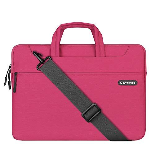 JUFENGYAO - Funda Impermeable para portátil de 13 a 13,3 Pulgadas, Estilo de Negocios, para Mujeres, Hombres, Color Rosa