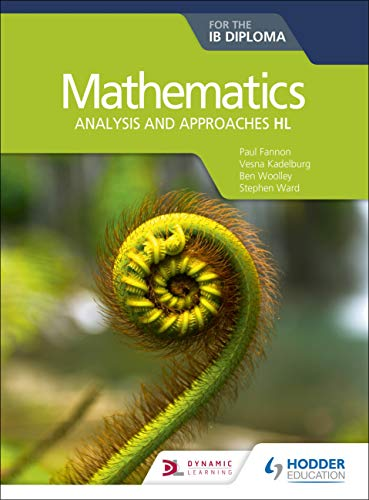Mathematics for the IB Diploma: Analysis and approaches HL Front Cover